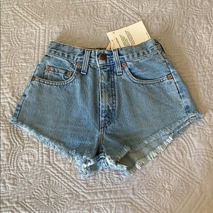 Levis vintage cheeky shorts